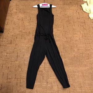 Bobi Pants Supreme Jersey Jumpsuit Black Poshmark